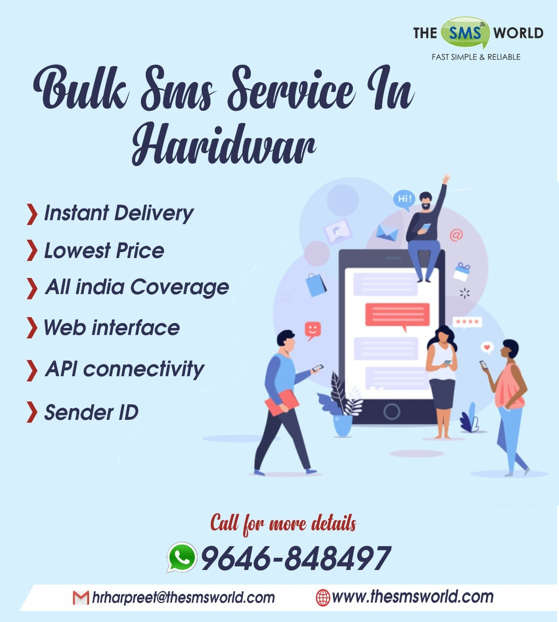 Best bulk SMS agency in Haridwar