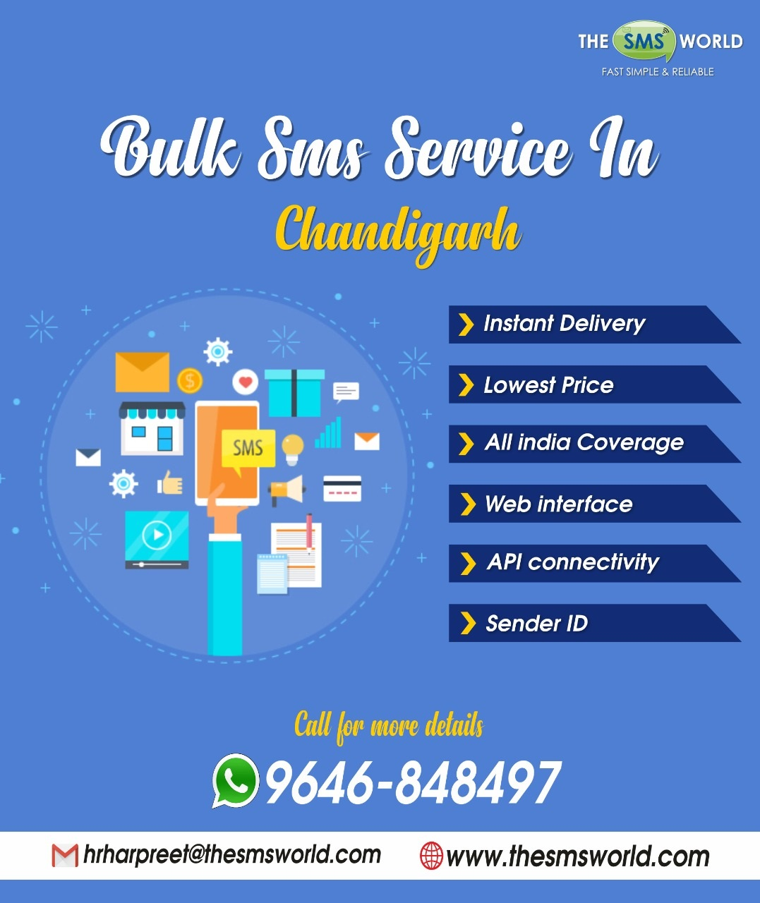 Bulk SMS Service in Chandigarh