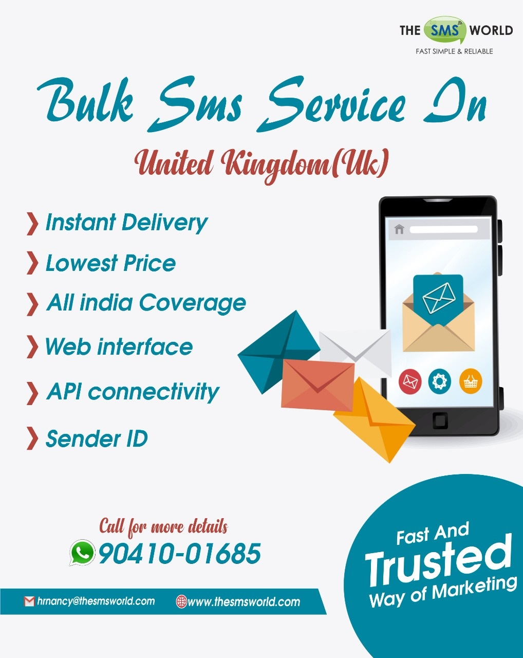 Bulk SMS Service in United Kingdom London